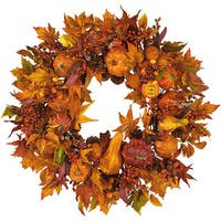 Pumpkin Harvest Wreath