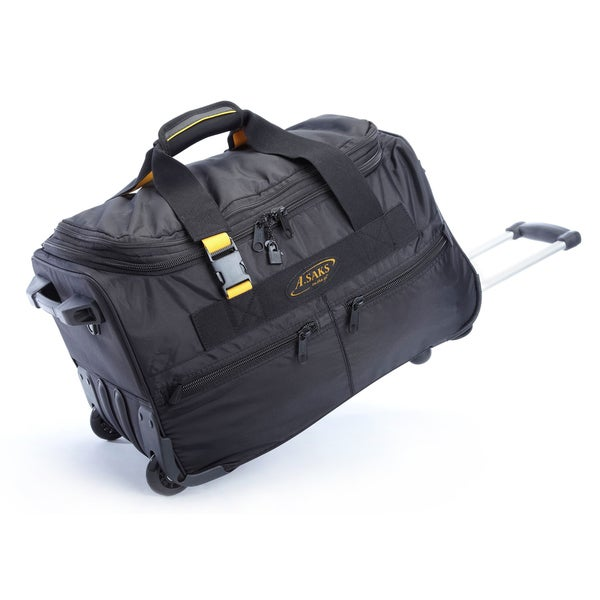 A.Saks Lightweight Expandable 20-inch Carry-On Rolling Upright ...