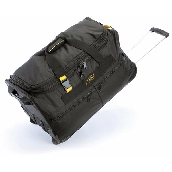 Shop A.Saks 25-inch Expandable Wheeled Upright Duffel Bag - Free ... 73df5be9155e8