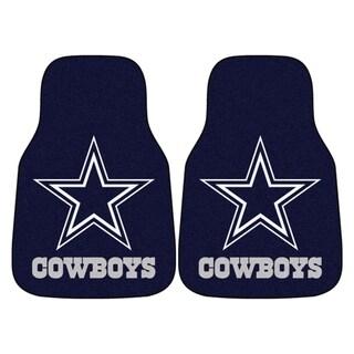 Link to FANMATS NFL - Dallas Cowboys 2 Piece Carpet Car Mat Set Similar Items in Fan Shop