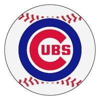 Chicago Cubs Baseball 27-inch Rug