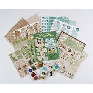 Busy Scrapper's Vacation 12x12 Scrapbook Kit