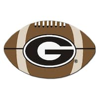 Fanmats NCAA University of Georgia Football Mat (22 in. x 35 in.)