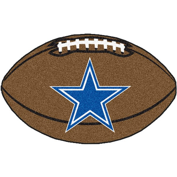 Fanmats Dallas Cowboys 22x35 Football Mat