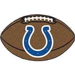 Fanmats Indianapolis Colts Football Mat (22 in. x 35 in.)