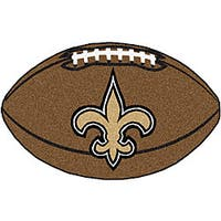 Fanmats NFL New Orleans Saints Football Mat (22 in. x 35 in.)