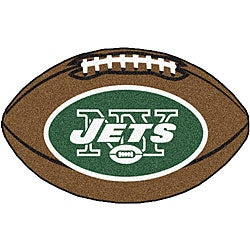 Fanmats NFL New York Jets Football Mat (22 in. x 35 in.)