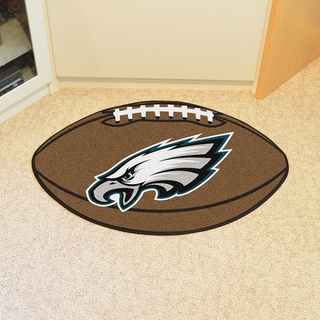 Fanmats NFL Philadelphia Eagles Football Mat (22 in. x 35 in.)