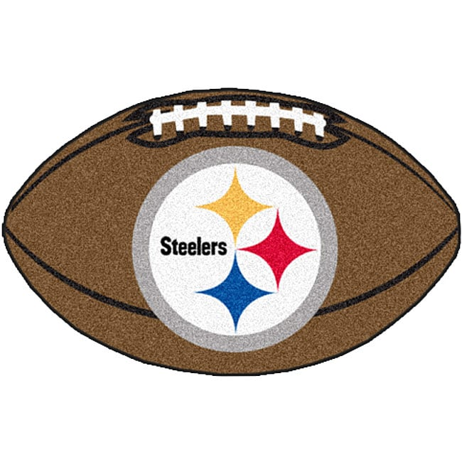 Fanmats Nfl Pittsburgh Steelers Football Mat 22 In X 35