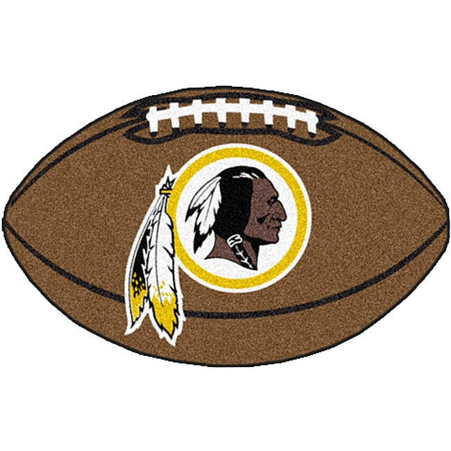 Fanmats NFL Washington Redskins Football Mat (22 in. x 35 in.)