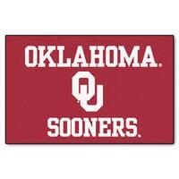 Fanmats NCAA University of Oklahoma Starter Mat (20 in. x 30 in.)