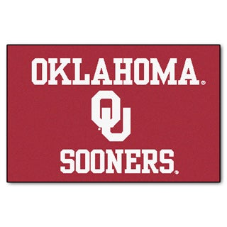 Fanmats NCAA University of Oklahoma Starter Mat (20 in. x 30 in.)