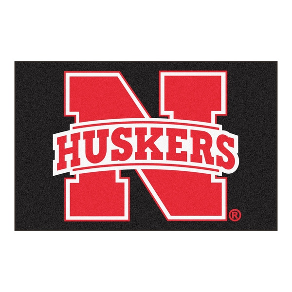 Fanmats NCAA University of Nebraska Starter Mat (20 in. x 30 in.)
