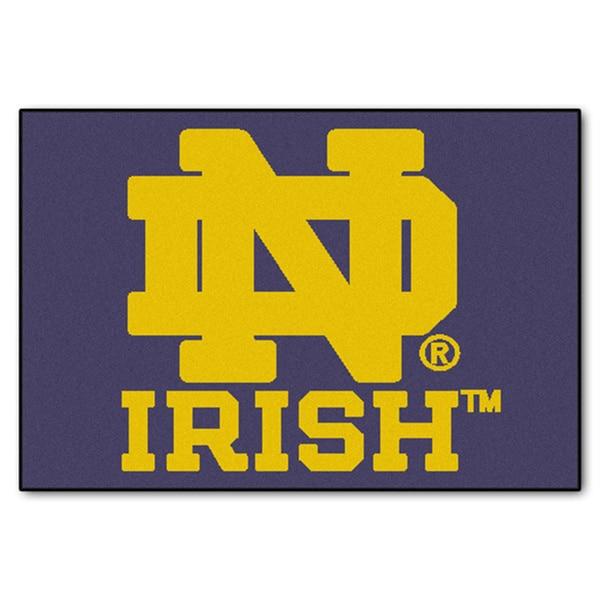Fanmats NCAA Notre Dame 20x30-inch Starter Mat