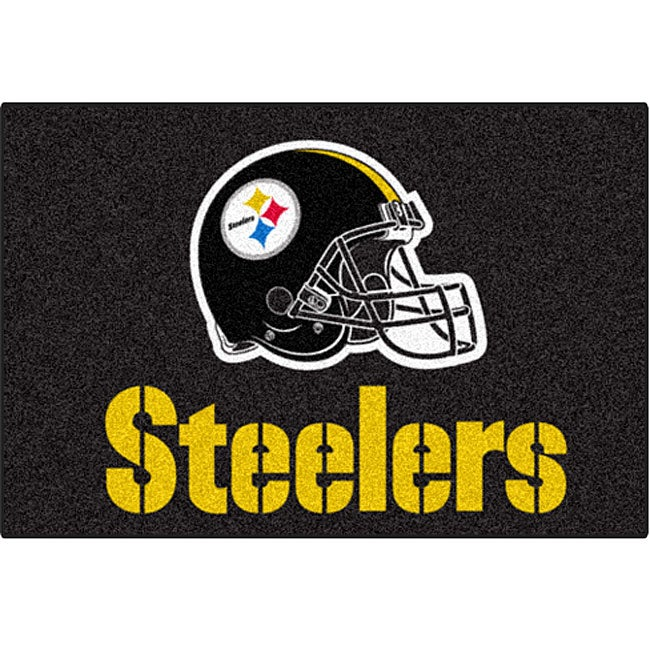 Fanmats Nfl Pittsburgh Steelers 20x30 Inch Starter Mat