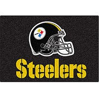 Fanmats NFL Pittsburgh Steelers 20x30-inch Starter Mat