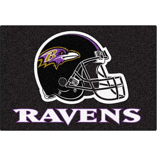 Fanmats NFL Baltimore Ravens 20x30-inch Starter Mat