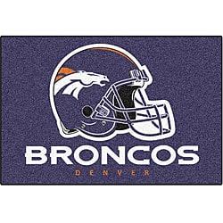 Denver Broncos 20x30-inch Starter Mat