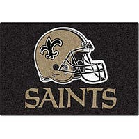 Fanmats NFL New Orleans Saints 20x30-inch Starter Mat