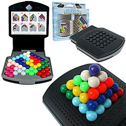 Lonpos Brain Intelligence Colorful Cabin 2D and 3D Lock-on Board Games