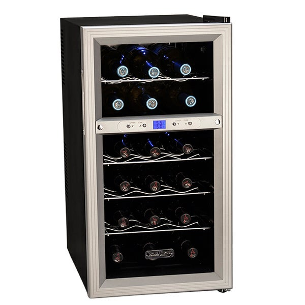 Koldfront 18-bottle Dual Zone Wine Refrigerator