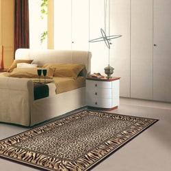Admire Home Living Virginia Leopard Area Rug (3'3 x 4'11)