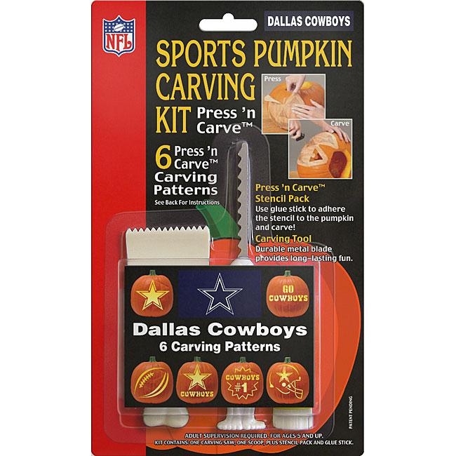 Dallas Cowboys Sports Pumpkin Carving Kit