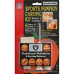 Oakland Raiders Pumpkin Carving Kit