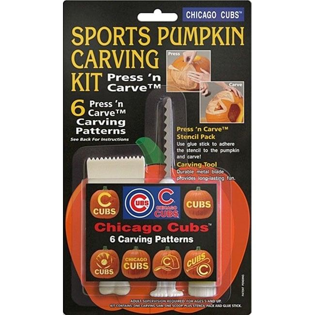 Chicago Cubs Pumpkin Carving Kit
