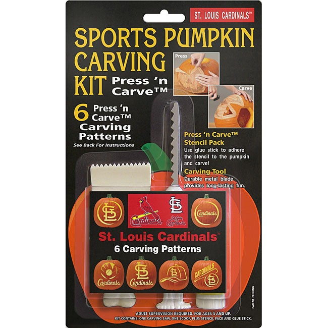 St. Louis Cardinals Pumpkin Carving Kit