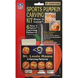 St. Louis Rams Pumpkin Carving Kit