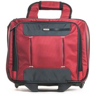 CalPak Quantum 17-inch Premium Rolling Laptop Briefcase