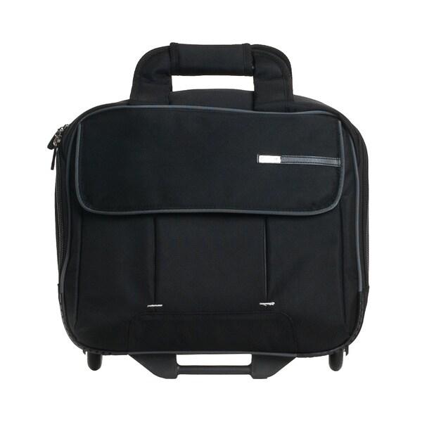 CalPak Tracer 17-inch Premium Rolling Laptop Briefcase