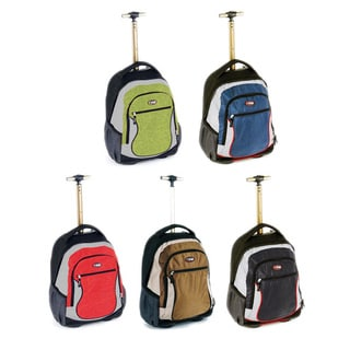 CalPak City View 18-inch Rolling Backpack