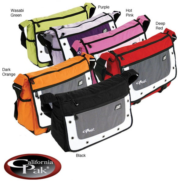 CalPak Goal Soft Messenger Briefcase