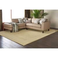 Nourison Hand-tufted Westport Sage Wool Rug (5' x 8') - 5' x 8'