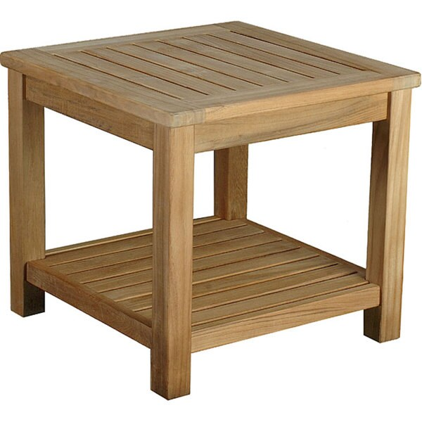 Bristol Teak Side Table. Bristol Teak Side Table   Free Shipping Today   Overstock com