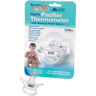 Mabis Healthcare Digital Pacifier Thermometer