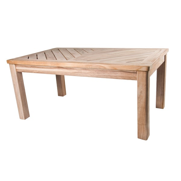Shop Bristol Teak Coffee Table - Overstock - 3444057