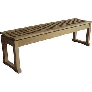 Savannah 5-foot Backless Bench