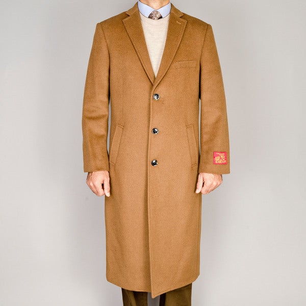 Men's Wool and Cashmere Top Coat