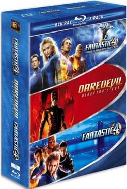 Marvel 3 Pack (Fantastic Four / Fantastic Four: Rise of the Silver Surfer / Daredevil) (Blu-ray Disc)