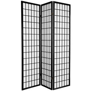 Handmade Wood and Rice Paper Windowpane Shoji Screen (China)
