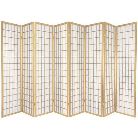 Wood and Rice Paper Windowpane Shoji Screen (China)