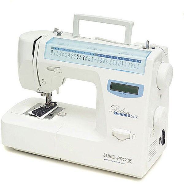 Euro Pro Deluxe 64-stitch LCD Sewing Machine
