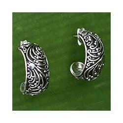 Sterling Silver 'Prairie' Earrings (Indonesia)
