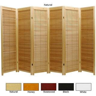 Wooden 6-foot 6-panel Marupa Room Divider (China)