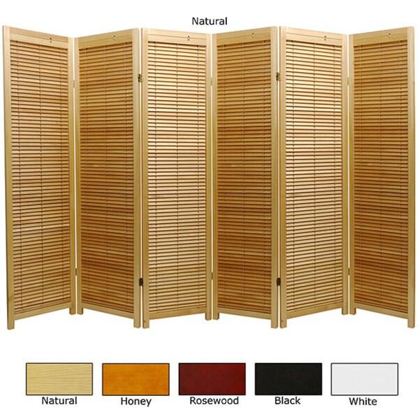 Handmade wooden foot panel marupa room divider