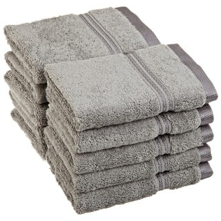 Superior Collection Luxurious 100-percent Premium Long-staple Combed Cotton Washcloth (Set of 10)