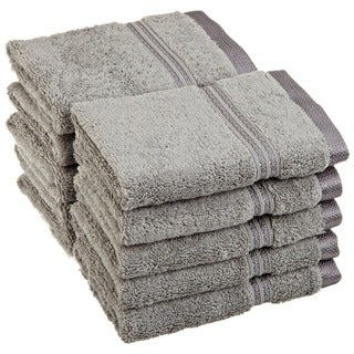 Superior Plush & Absorbent 600 GSM Combed Cotton Washcloth (Set of 10)